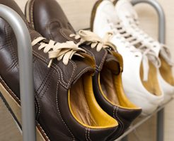 靴を早く乾かす