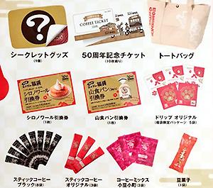 コメダ珈琲 5000円福袋