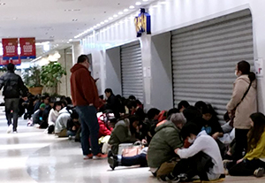 ポケモンセンター福袋 行列