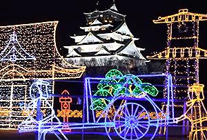 大阪城公園 坂本龍馬 桜の魁