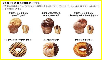 ミスド 凍らせ推奨ドーナツ